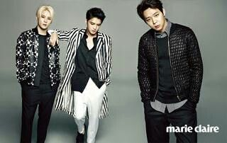 JYJ for marie claire august 2014