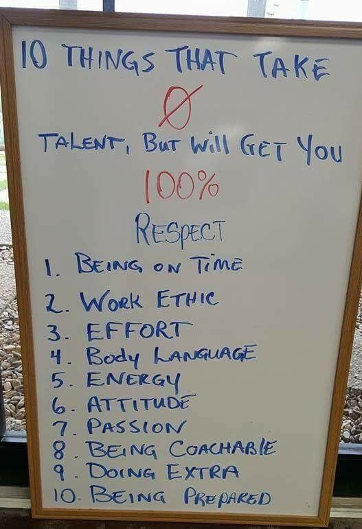 Yes 10 Things That Take Zero Talent But Payoff In Spades And Move
