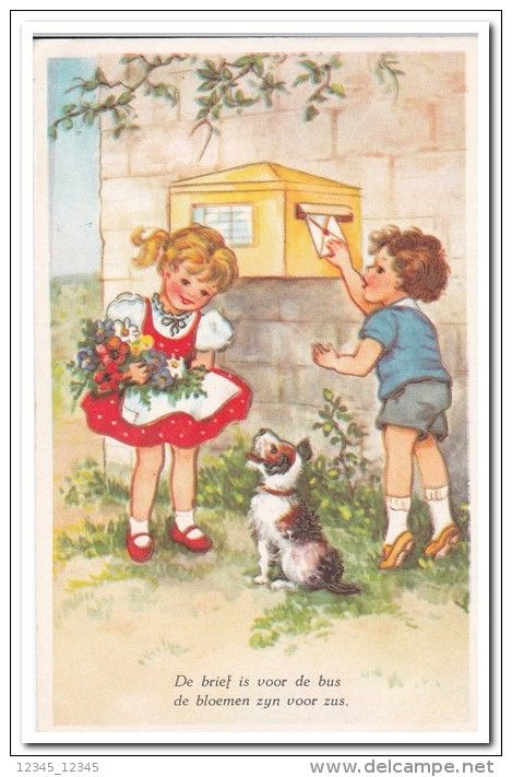 Postcards > Topics > Children > Humorous cards - Delcampe.net