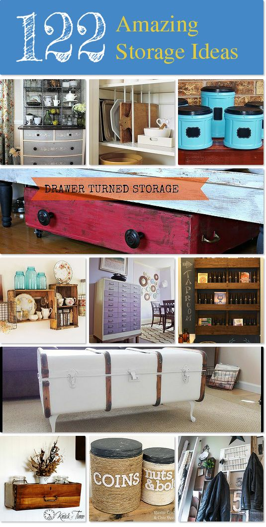 122 Amazing Storage Ideas