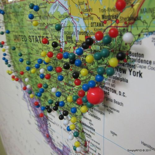 Create a map of the world and pinpoint where Ive been with pins – Where I Ve Been Travel Map