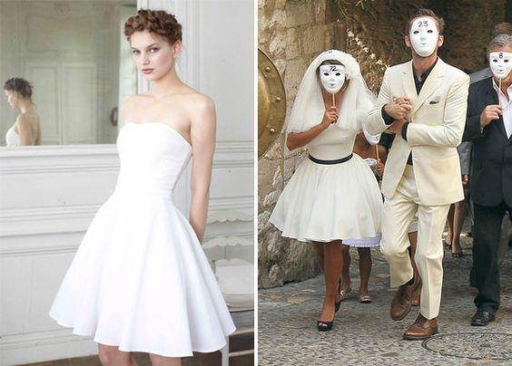 robe delphine manivet pour la redoute 169 a droite mariage d - La Redoute Mariage