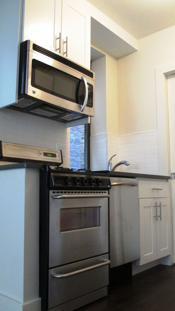 Tiny but mighty NYC  kitchen.