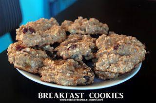 healthy breakfast cookies! YUM!