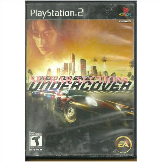 Need for Speed Undercover Play Station 2 Video Game disc PS2 NTSC U/C Used 014633360035 on eBid Canada
