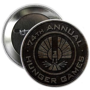 74th annual Hunger Games button