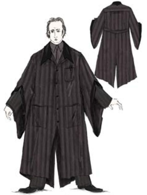 Concept Art Of Cornelius Fudge In Pinstripe Robes From Harry Potter And The Prisoner Of Azkaban 2004 Harry Potter Costume Wizard Robes Art Costume