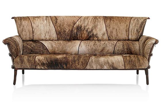 Brindle Navajo Arm Sofa Western Sofas And Loveseats