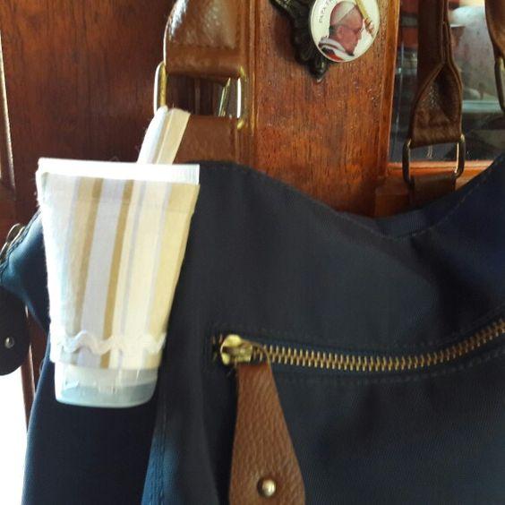 Porta alcool gel para bolsa