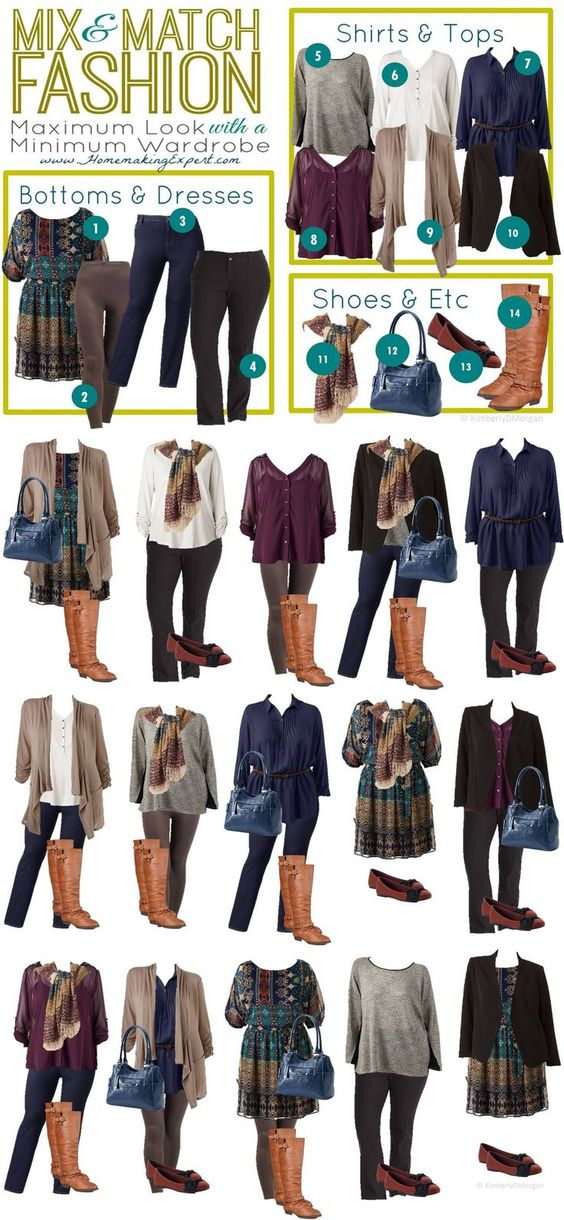 1.25 Kohl's Plus Size Mix Match VERTICAL