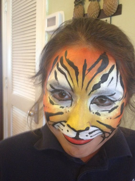 Tiger! Face paint