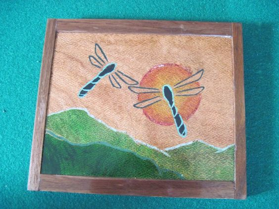 """Custom wall hanging art by """"A Turner's Gold"""""""