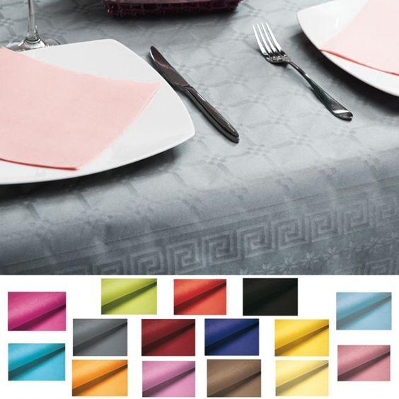Nappe papier jetable pas cher couleur, mariage bapême - Rouleau