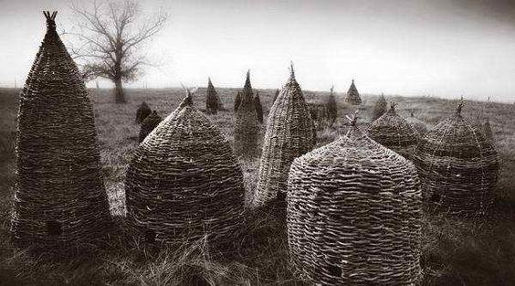 French Bee Skeps....: