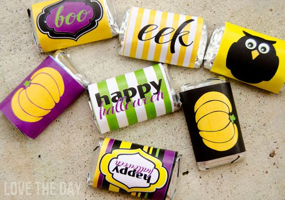 FREE Hershey Halloween Mini Candy Bar Wrappers (& A Little Secret) from Love The Day