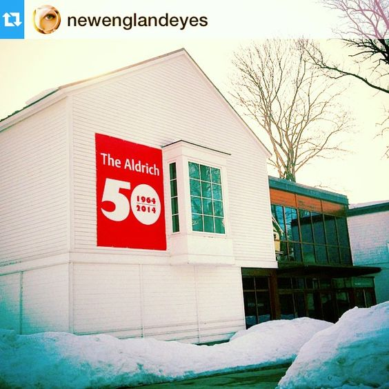 Thanks to @newenglandeyes for exploring our CT itinerary today. From waterfalls to modern art - just an hour apart. #repost ・・・ Aldrich Contemporary Museum. Be sure to check out @CTvisit for more inspiring trips around #Connecticut #CTvisit #museum #ct #smalltowns #backroads #hiddengems #wandering #newengland #winter