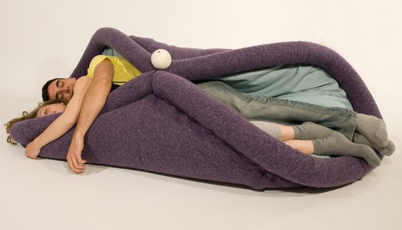 For when you feel like the inside of a burrito, or you want to awkwardly spoon someone.