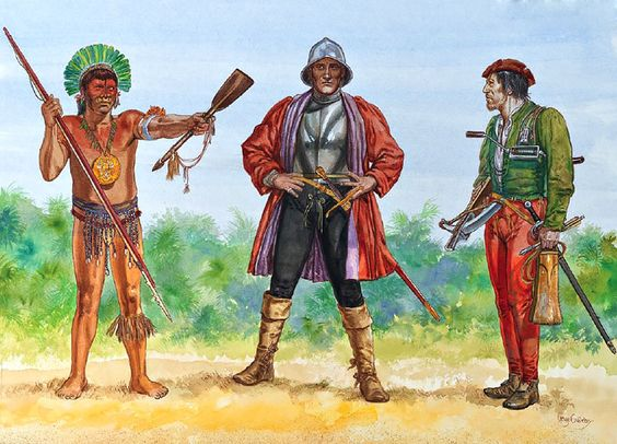 how did columbus and the taino meet
