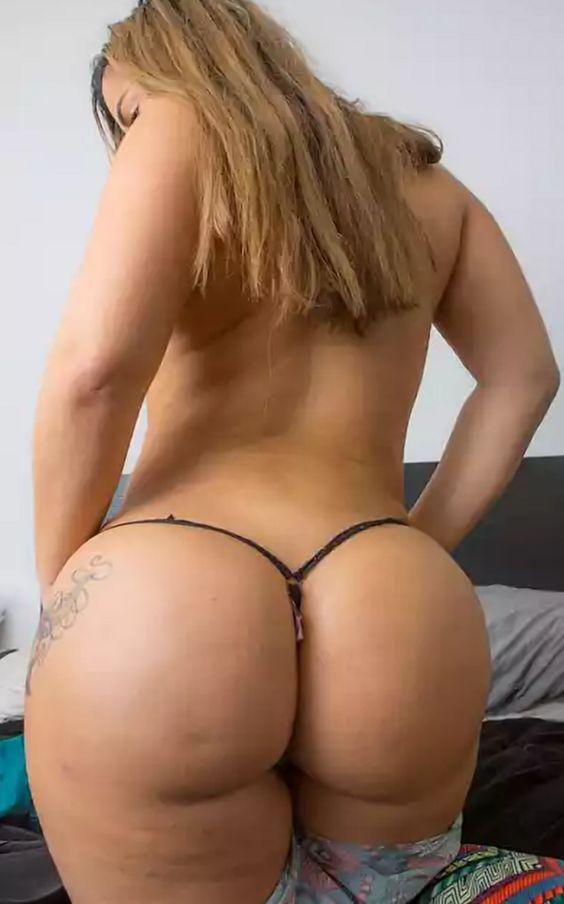 Big Ass In Thong