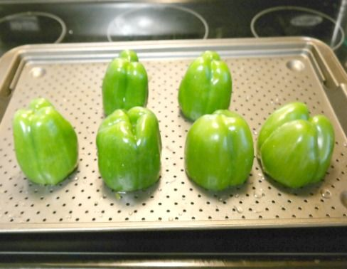 How To Freeze Whole Bell Peppers Stuffed Peppers Stuffed Bell Peppers Freezing Bell Peppers