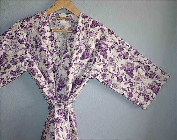 Kimono Robe. Bridesmaid Robes. Kimono.  Robe. by ModernKimonoRobes