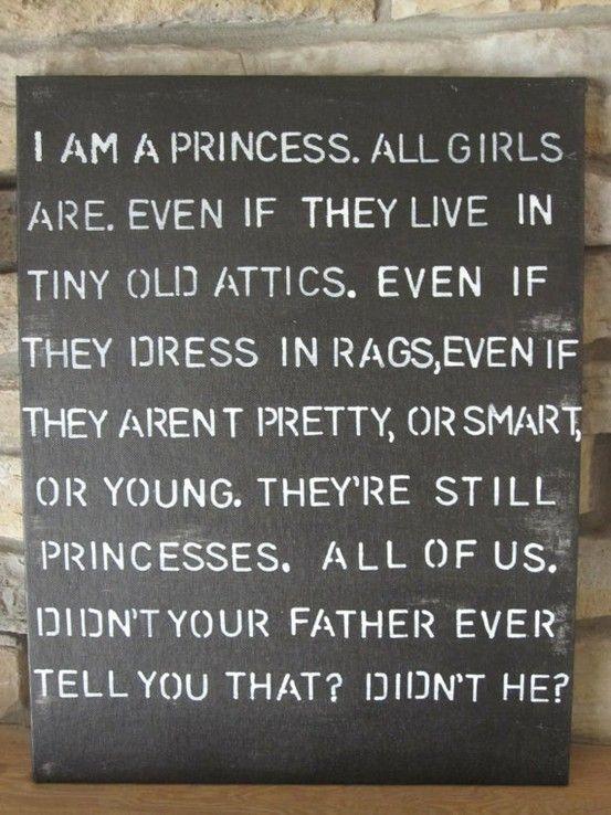 #quote #little princess #princess