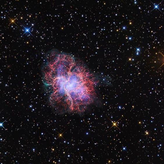 這是螃蟹星雲,它被用作星空#space #nasa #nasa #astronomy #youtube