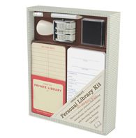 Personal Library Kit- I LOVE this!  And, all those years of playing librarian come true!