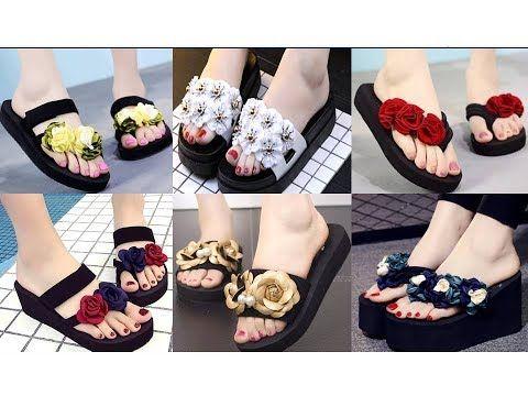1) Stylish Flip Flop Sandals Design