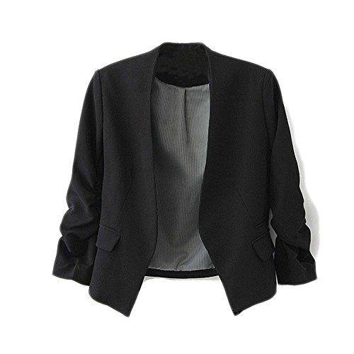Yonger Korea Style Women's Blazer Jacket Suit Work Casual Multi Color