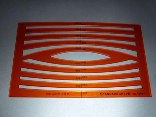 STANDARDGRAPH-Zeichenschablone-Kreisbogenschablone-N-1319F