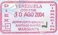 Venezuela entrada