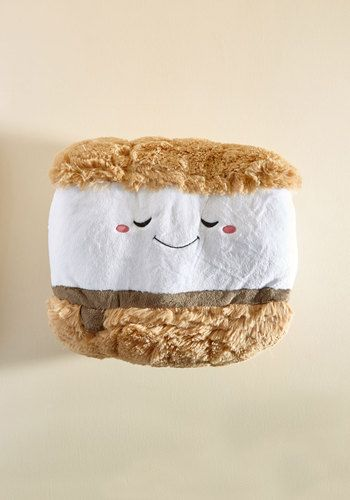plush s'more pillow
