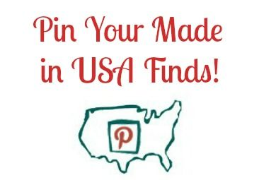 Pin Your Made in USA Finds on Pinterest #madeinusa