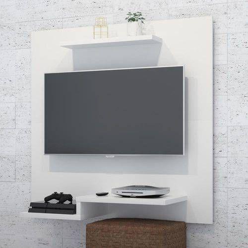 Painel Para Tv Jet Plus Branco Lojas Rpm Com Imagens