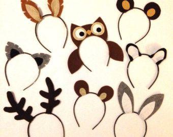 8 quantité oreilles thème Animal anniversaire par Partyears sur Etsy