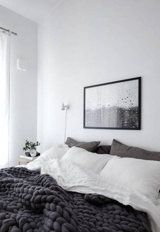Style Scandi Minimaliste Depouille De L Interieur Chambre A