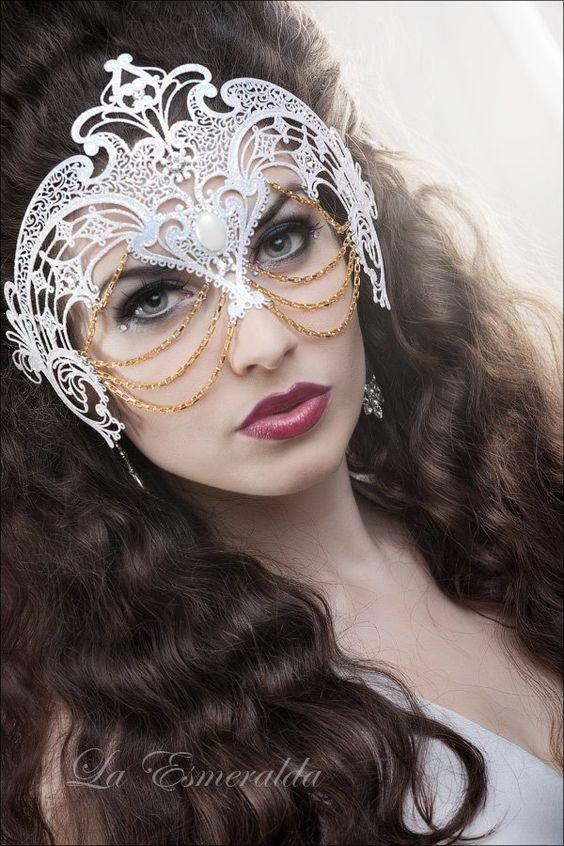 Masks, Masquerades and Masquerade masks on Pinterest