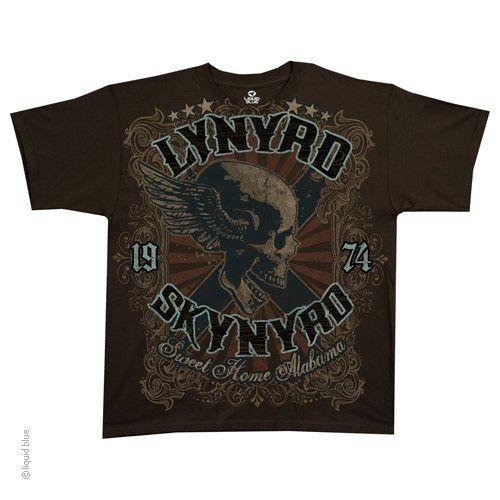 LYNYRD SKYNYRD (SWEET HOME ALABAMA) T-SHIRT