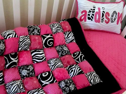 puffy quilt omg i know my next project!! (jess, i think brooklynn would love this)