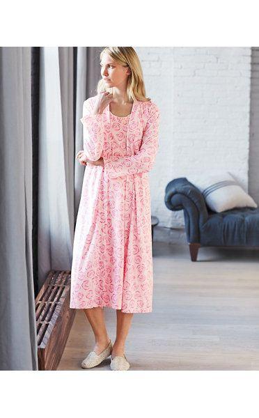 Organic Cotton Easy Knit Robe