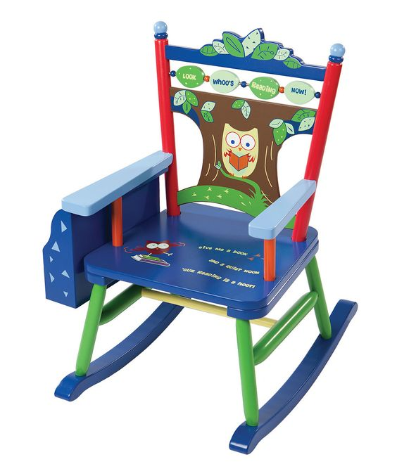 Look at this Owl Rocker Rocking Chair on #zulily today!