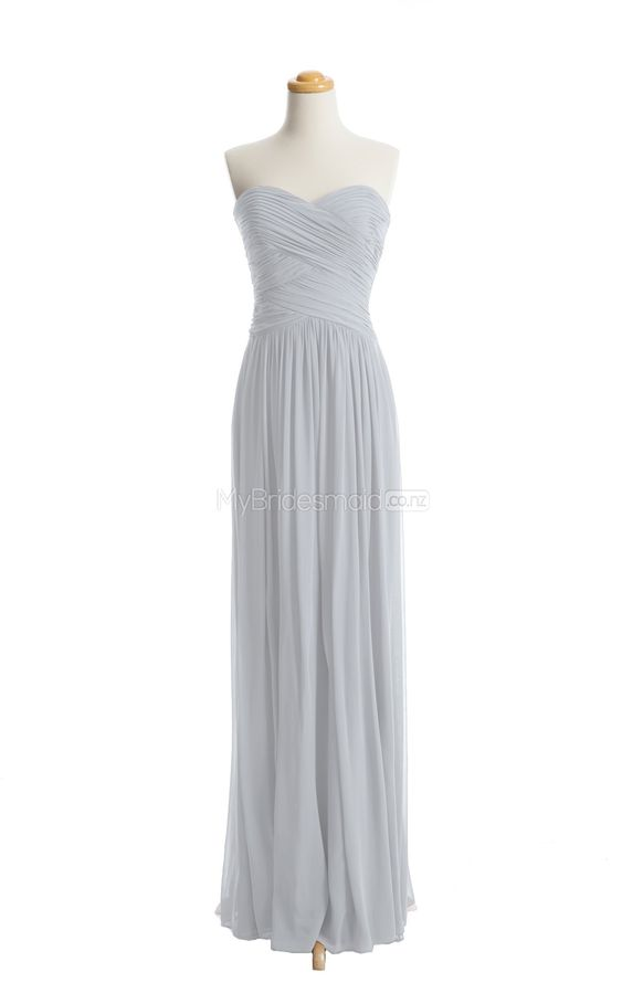 Fabulous Silver bridesmaid dress,bridesmaid dresses mybridesmaids.co.nz
