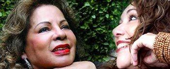 Ângela Maria e Vânia Bastos no show Falando de Amor no Sesc Santo Amaro - 24 horas de Entretenimento no Sesc Santo Amaro - Flertaí