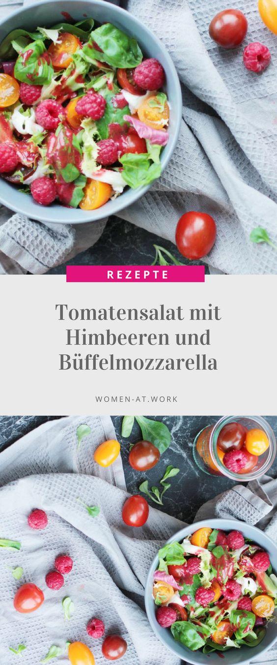 Die Kombination aus Salat und Früchten ist nicht nur perfekt für den Sommer, schmeckt wirklich lecker und ist zudem super gesund! Hinzu kommt noch der intensive Geschmack des Büffelmozzarellas, der den Salat perfekt abrundet. Grundsätzlich kann man die Himbeeren auch durch andere Früchte wie Erdbeeren, Heidelbeeren oder Pfirsiche ersetzen.