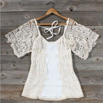 Meadow Lace Blouse...