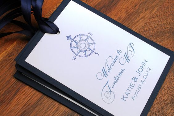 Nautical Wedding Gift Tags : Nautical Wedding Gift Tags, Nautical Favor Tags, Compass, Navy Blue ...