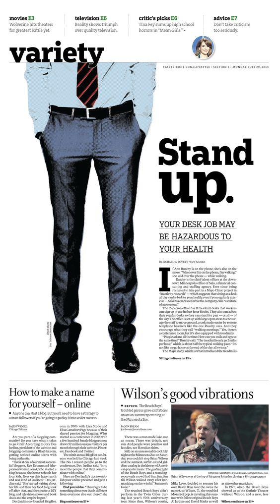 #Newspaper #Design #100 | Minneapolis Star Tribune
