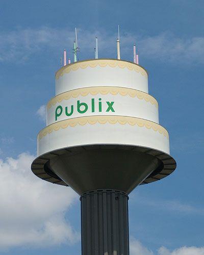 Publix Cake Tower, Lakeland, Florida