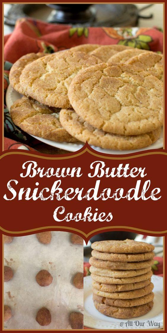 Peanut butter snickerdoodle cookie recipe